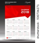 desk calendar 2018 year size...