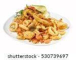 Mixed Fried Fish Shrimp  Squid...