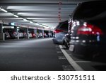 underground parking garage ... | Shutterstock . vector #530751511