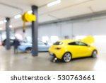 auto repair shop in bokeh ... | Shutterstock . vector #530763661