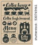 set of design elements on... | Shutterstock .eps vector #530765461
