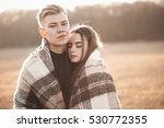 young handsome man and woman... | Shutterstock . vector #530772355