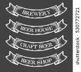 craft beer brewery shop market...   Shutterstock . vector #530772721