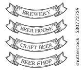 craft beer brewery shop market... | Shutterstock . vector #530772739