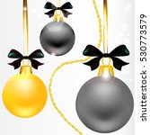 christmas  ball  holiday | Shutterstock .eps vector #530773579