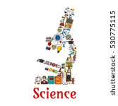 science microscope symbol...   Shutterstock .eps vector #530775115