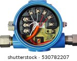 transmitter wiring isolated on... | Shutterstock . vector #530782207