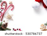 christmas decorations and... | Shutterstock . vector #530786737