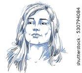 graphic vector hand drawn... | Shutterstock .eps vector #530794084