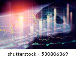 stock market indicator and... | Shutterstock . vector #530806369