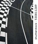 Car Race Asphalt And Chess Cur...