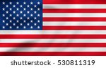 american national official flag.... | Shutterstock . vector #530811319