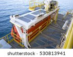 lifeboat in offshore  rescue... | Shutterstock . vector #530813941