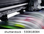 large printer format inkjet... | Shutterstock . vector #530818084