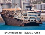 Photo Picture Of A Ship Wreck...
