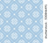 seamless floral pattern.... | Shutterstock . vector #530846491