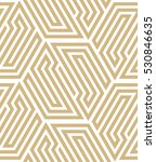 abstract geometric pattern with ... | Shutterstock . vector #530846635