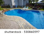 swimming pool. | Shutterstock . vector #530860597