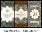 vector set of design elements...   Shutterstock .eps vector #530868097