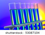 laboratory glass test tubes... | Shutterstock . vector #53087104