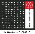 database server icon set clean... | Shutterstock .eps vector #530882251