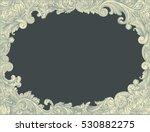 victorian baroque floral... | Shutterstock .eps vector #530882275