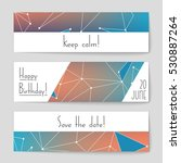 abstract vector layout... | Shutterstock .eps vector #530887264