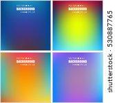 abstract creative concept... | Shutterstock .eps vector #530887765