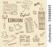 set of england symbols...   Shutterstock .eps vector #530888839