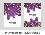 abstract vector layout... | Shutterstock .eps vector #530890561