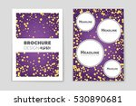 abstract vector layout... | Shutterstock .eps vector #530890681