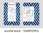 abstract vector layout... | Shutterstock .eps vector #530892901