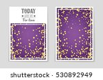 abstract vector layout... | Shutterstock .eps vector #530892949