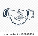 icon bribery as the concept of... | Shutterstock .eps vector #530893159