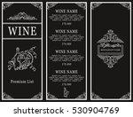 vintage design of restaurant... | Shutterstock .eps vector #530904769