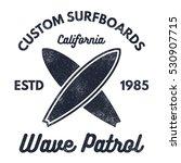 vintage surfing tee design....   Shutterstock .eps vector #530907715