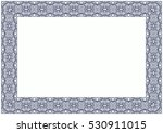 abstract ornamental frame ... | Shutterstock . vector #530911015
