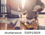 architect concept  architects... | Shutterstock . vector #530915839