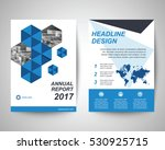 blue and black abstract flyer... | Shutterstock .eps vector #530925715