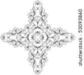 christian cross | Shutterstock .eps vector #53093860