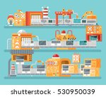 stock vector vertical... | Shutterstock .eps vector #530950039