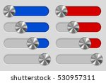 web interface slider set. user...