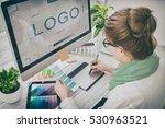 logo design brand designer... | Shutterstock . vector #530963521