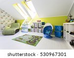 Green Child Room With Roof...