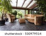 comfortable plush lounge set in ... | Shutterstock . vector #530979514