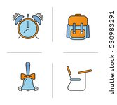 school and education color... | Shutterstock .eps vector #530983291