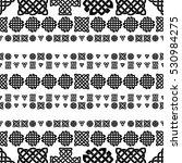 celtic knot seamless pattern | Shutterstock .eps vector #530984275
