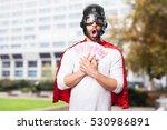 Surprised Super Hero Winning...