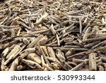 driftwood collection huge pile    Shutterstock . vector #530993344