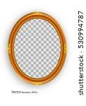 frame picture golden. vector... | Shutterstock .eps vector #530994787